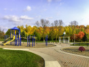 Children's Playground in Autumn