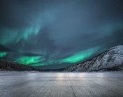 Aurora display(Yukon,Canada)