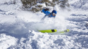 fun in powder snow