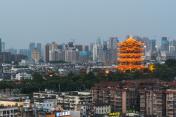 China,Wuhan Yellow Crane tower