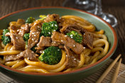 Beef Teriyaki with Udon Noodles