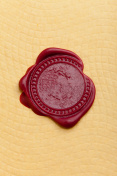 Wax Seal on Paper