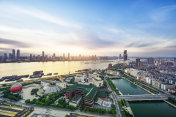 Skyline of CBD City, Shenzhen