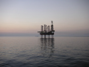 Oilfield at Dusk