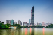 Shenzhen Park and Skyline