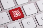 QR Code on Keyboard