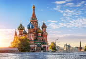 St. Basil's Cathedral, and nobody around