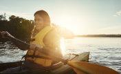 Happiness is kayaking