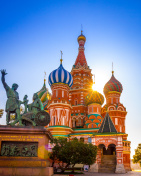 St. Basil's Cathedral Moscow city Russia