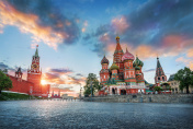 St. Basil's Cathedral and the Spasskaya Tower