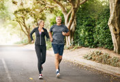 Running towards a long and happy life