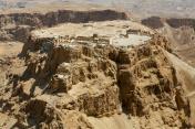 Aerial View of Masada Israel