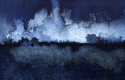 Backgrounds Watercolor Painting Blue Sky Cloud Sea Storm