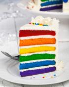 Slice of cake.