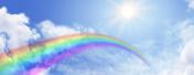 Rainbow Sky Website Banner