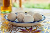 The national dish of Uzbekistan - Kurt