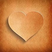 Valentine's Day - paper heart