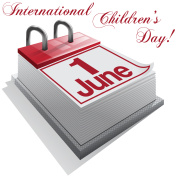 calendar 1 June, International Children's Day