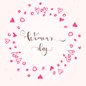 Greeting card - International Happy Women's Day