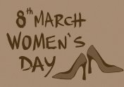 International womens day vintage
