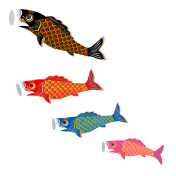Carp streamer. Children's Day. Customs of Japan