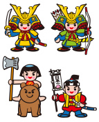 Children's Day. Character. Japan. Tradition of Japan.