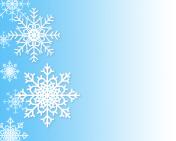 Christmas winter snowflake background gradient.