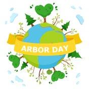 National Arbor Day concept Illustration