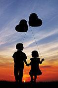 Childrens in love