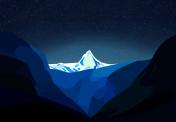 ice,Icebergs,star,night