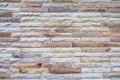Tile brick wall modern vintage background