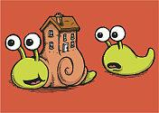 Snail property ladder