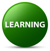 Learning green round button