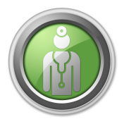 Icon, Button, Pictogram Physician