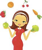 Pregnancy: health food