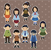 student stickers
