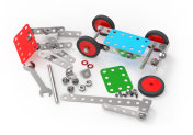 Car toy mechanical construction