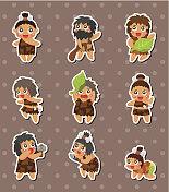 caveman stickers