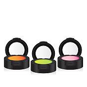 vector makeup colorful eyeshadow perspective
