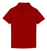 T-shirt polo - red