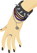 Punk jewelry