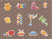 baby toy stickers