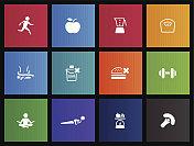 Metro Icons  - Healthy Life