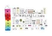 The city where the Rainbow Tower