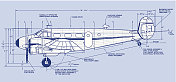 Aircraft Blueprint C