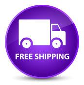 Free shipping elegant purple round button