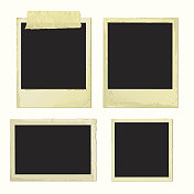 Old Photo Frames (vector + XXL jpg in ZIP folder)