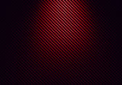 Abstract red carbon fiber textured material design