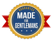 Made for gentlemans label or seal