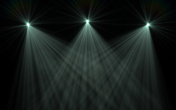 Lens Flare stage lights